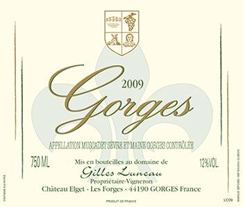 gorges-label